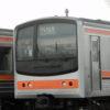 ジャカルタへの出発を待つ武蔵野線205系電車